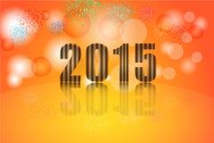 New year's  celebration, Illustration vector background Stock Image