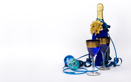 New Year's champagne Stock Photography