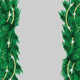 New Year's and Christmas background with place for your text. Christmas tree on the knitted background Stock Images