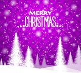 New Year`s Christmas background, in purple tones. Geometrical ornament. Eps 10 vector illustration