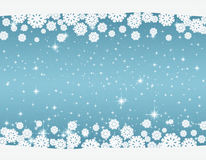 New Year`s and Christmas blue background. Celebratory New Year`s and Christmas blue background Stock Photos