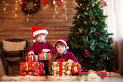 New Year`s and Christmas. Royalty Free Stock Image