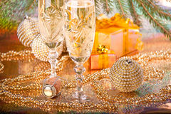 New Year's and Christmas decoration Stock Photo