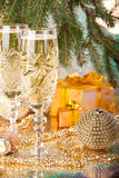 New Year's and Christmas decoration Stock Photos