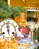 New Year's and Christmas decoration Royalty Free Stock Image