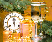 New Year's and Christmas decoration Royalty Free Stock Photo