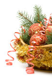 New Year's and Christmas decoration Stock Image