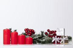 New Year`s and Christmas decoration royalty free stock images