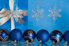 New Year's and Christmas ornaments Stock Image