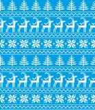 New Year`s Christmas pattern pixel. For print 2018 Royalty Free Stock Photography