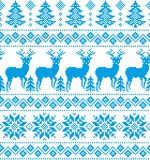 New Year`s Christmas pattern pixel. For print 2018 Royalty Free Stock Photos