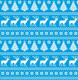 New Year`s Christmas pattern pixel. For print 2018 Royalty Free Stock Image