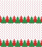 New Year`s Christmas pattern pixel vector illustration stock photography