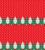 New Year`s Christmas pattern pixel vector illustration royalty free stock images