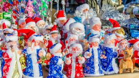 New Year`s and Christmas stock photography