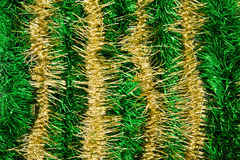 New Year`s or Christmas tinsel. Bright background of the Christmas or New Year's tinsel Royalty Free Stock Photography
