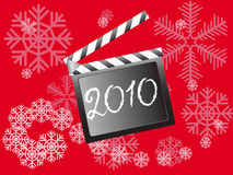 New Year's clapper board Royalty Free Stock Images