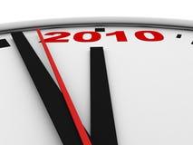 New Year's clock Stock Photos