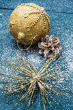 New year's composition Royalty Free Stock Photo