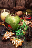 New year's composition Stock Images