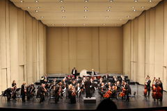 New year's concert straus philharmonic societ Stock Image