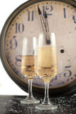 New year's countdown Stock Photography