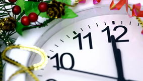 New Year's countdown Stock Image