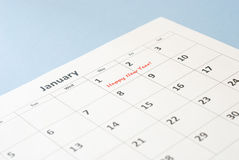 New year's day Royalty Free Stock Photos
