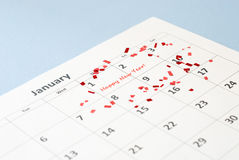 New year's day Royalty Free Stock Photo