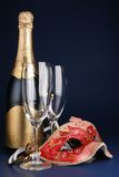 New Year's Day celebration Royalty Free Stock Photography