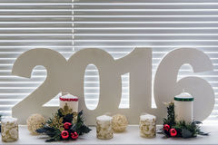 2016 new year's day. Stock Photo