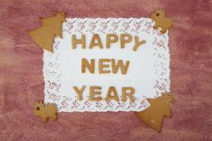 New Year's Day congratulations background Stock Photography