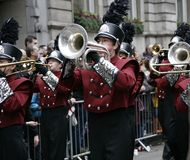 New Year's day parade in London Stock Photo