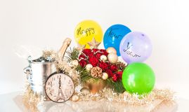 New Year`s Decoration - Happy New Year! royalty free stock images