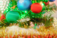 New Year's decorations stock photography