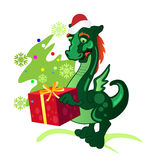 New Year's dragon Royalty Free Stock Photography