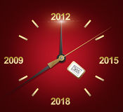 New year's eve 2012 Royalty Free Stock Image