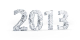 New Year's Eve 2013. Frozen 2013 Stock Images