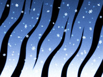 New Year's Eve, background. 2010. Tiger skin royalty free illustration