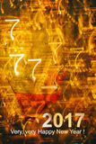 New Year`s Eve background Stock Images