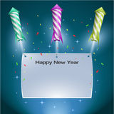 New Year's Eve Background Royalty Free Stock Image
