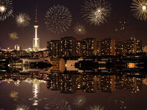 New year's eve in berlin Stock Images