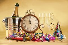New Year's Eve Celebration Royalty Free Stock Images