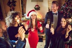 New Year`s eve celebration Royalty Free Stock Images