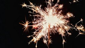 Fireworks with New Year& x27;s Eve royalty free stock photos