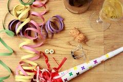 New year's eve celebration. Royalty Free Stock Photo