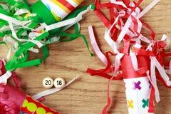 New year's eve celebration. Stock Image