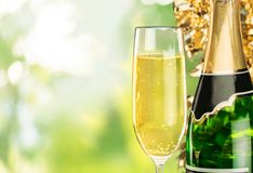 New Year's Eve, Champagne, Celebration Royalty Free Stock Images