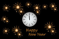 New Year`s Eve Royalty Free Stock Photography