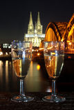 New Year's Eve Cologne Germany Royalty Free Stock Photography